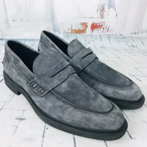 DONALD PLINER Edmund Suede Leather Casual Loafers